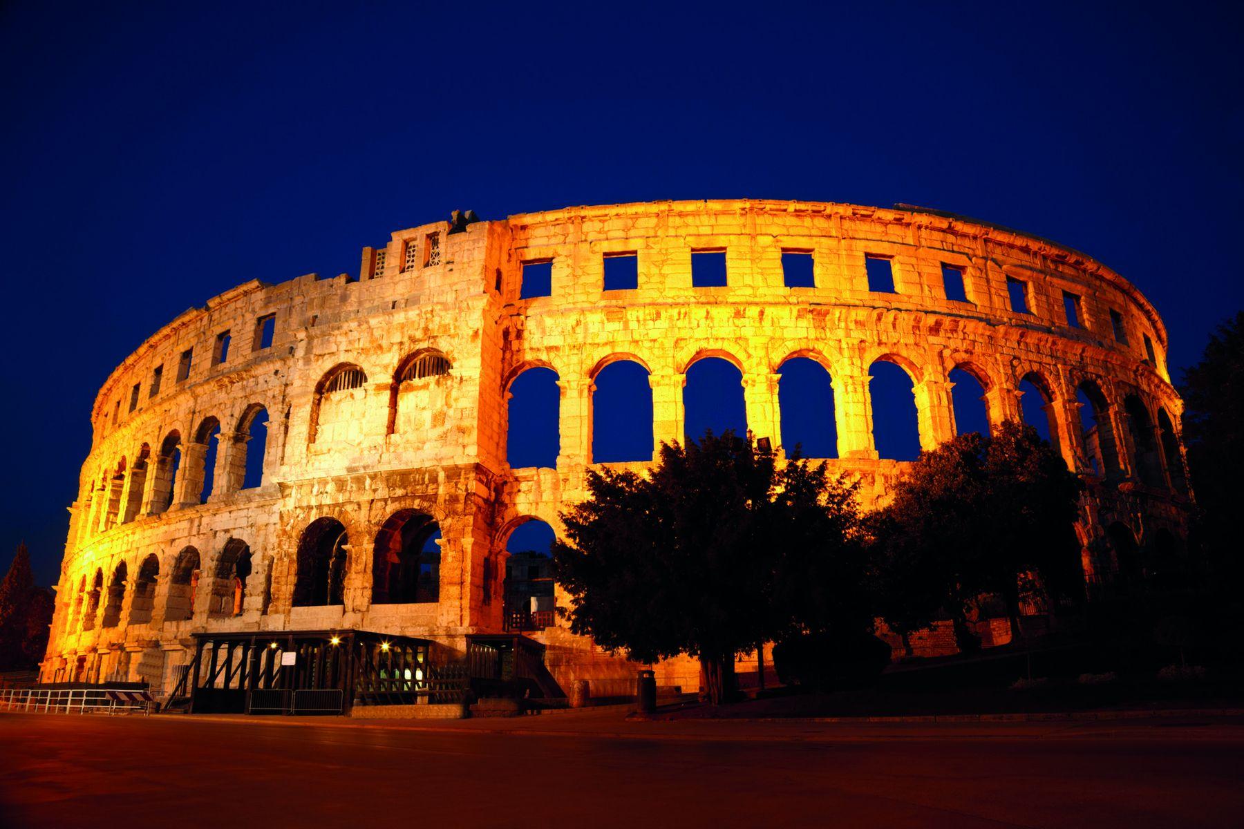 Pula Amphitheater iStock488118163